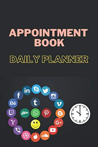 Appointment Book: Daily Planner