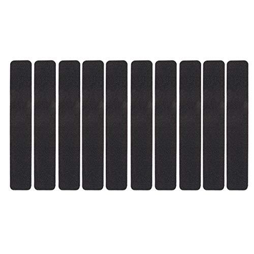 VOSAREA 10 Stück Grip Friction Tape Treppenstufen rutschfestes Klebeband für den Innen- und Außenbereich