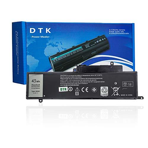 DTK GK5KY 92NCT 4K8YH 0WF28 Laptop Battery for Dell Inspiron 13 7347 7348 7352 7359 7353 Inspiron 11 3147 3148 3158 3157 3153 3152 Inspiron 15 7558 7568 [43Wh 11.1V]