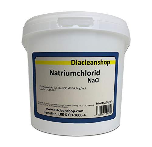Natriumchlorid NaCl - chem. rein - 2,5kg