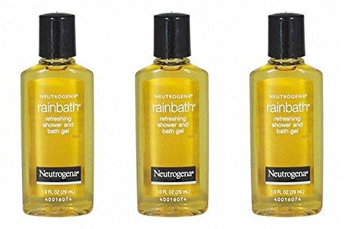 Neutrogena Rainbath Refreshing Shower and Bath Gel Travel Size 1 Oz (Pack Of 3)