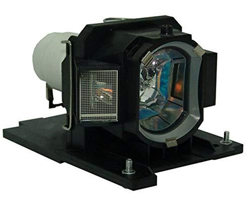 Supermait DT01022 / CPRX80LAMP Bulbo Lámpara de Repuesto para proyector con Carcasa Compatible con HITACHI CP-RX80W CP-RX78 ED-X24 CP-RX78W CP-RX80 ED-X24Z CPRX80W CPRX78 EDX24 CPRX78W CPRX80 EDX24Z