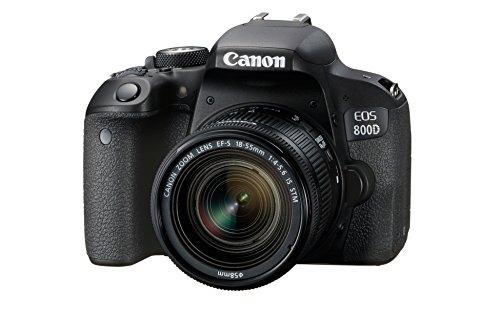 Canon EOS 800D - Cámara RÉFLEX de 24.2 MP (Pantalla táctil de 3.0