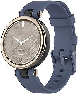 Classicase Correa de Reloj Compatible con Garmin Lily, Impermeable Reemplazo Correas Reloj Silicona Banda