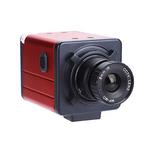Semiter Us Plug 100-240v 1200 Tvl C-Mount Industry Camera Hd Av/tv Microscope Video Recorder Ccd for Industrial Testing Machine Vision Etc.