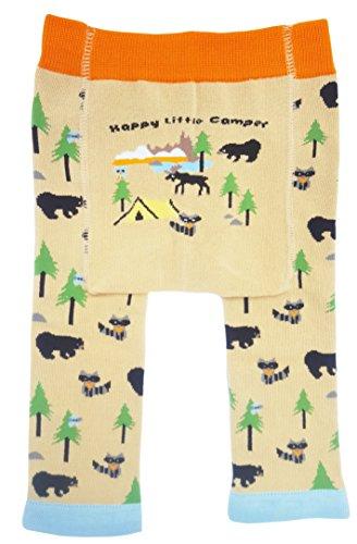Huggalugs Baby or Toddler Boys Girls or Unisex Happy Camper Legging Pant 12-24m