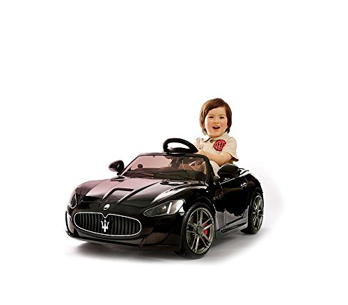 MEDIA WAVE store LT880 Maserati Ghibli Voiture électrique pour Enfants avec lumière LED 12V e MP3
