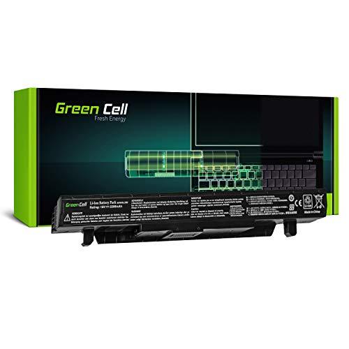 Green Cell® Standard Serie A41N1424 Batería para ASUS GL552 GL552J GL552JX GL552V GL552VW GL552VX ZX50 ZX50J ZX50V Ordenador (4 Celdas 2200mAh 15V Negro)