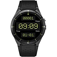 Zwbfu KINGWEAR KW88 Pro 3G SmartWatch Phone 1.39 Pulgadas Android 7.0 MTK6580 Quad Core 1.3GHz 1GB RAM 16GB ROM Smart Watch GPS Dispositivos portátiles