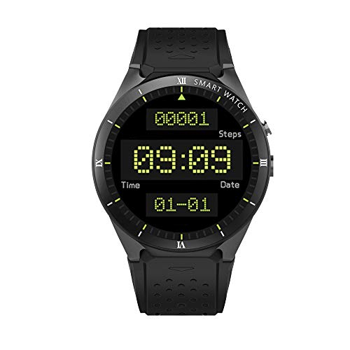 Zwbfu KINGWEAR KW88 Pro 3G SmartWatch Phone 1.39 Pulgadas Android 7.0 MTK6580 Quad Core 1.3GHz 1GB RAM 16GB ROM Smart Watch GPS Dispositivos portátiles