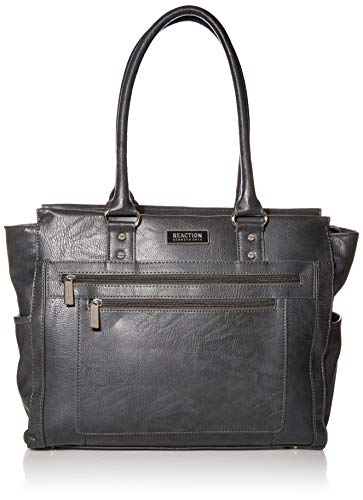 Kenneth Cole Reaction Top Zip Tote, Grey