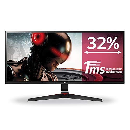 LG 34UM69G-B 86,34 cm (34 Zoll) UltraGear™ 21:9 UltraWide™ Full HD IPS Gaming Monitor (1ms MBR, AMD Radeon FreeSync, DAS Mode, 99%sRGB), schwarz