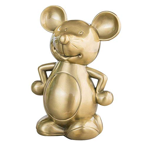 JY&WIN Metal Coin Piggy Bank, Mouse Piggy Bank, Gifts For Kids, Friends, Also Room Decor Ornaments