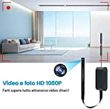 Zoom IMG-2 1080p telecamera mini wifi videocamera