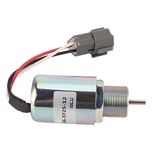 Magnetventil, Magnetventilschalter Stahlgehäuse für Mitsubishi Generator S3L2-61SD DC12V SA-3725-12