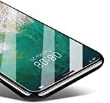 Coolreall [3-Pack Protector Pantalla Compatible para iPhone XS/X, Cristal Templado Compatible para iPhone XS/X, Vidrio Templado Protector de Pantalla HD con Dureza 9H, 3D Touch