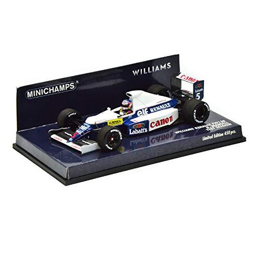 【デカール加工品】 ミニチャンプス MINICHAMPS 1/43スケール ウィリアムズ ルノー FW13B No.5/1991 ...