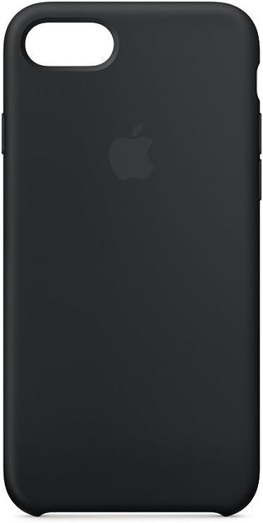 Apple Coque en silicone (pour iPhone 8 / iPhone 7) - Noir