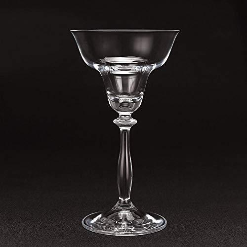 Copa de vino de cristal sin plomo Copa de cóctel de margarita de alta calidad Copa de postre Copa Vajilla Fiesta de boda vasos transparente
