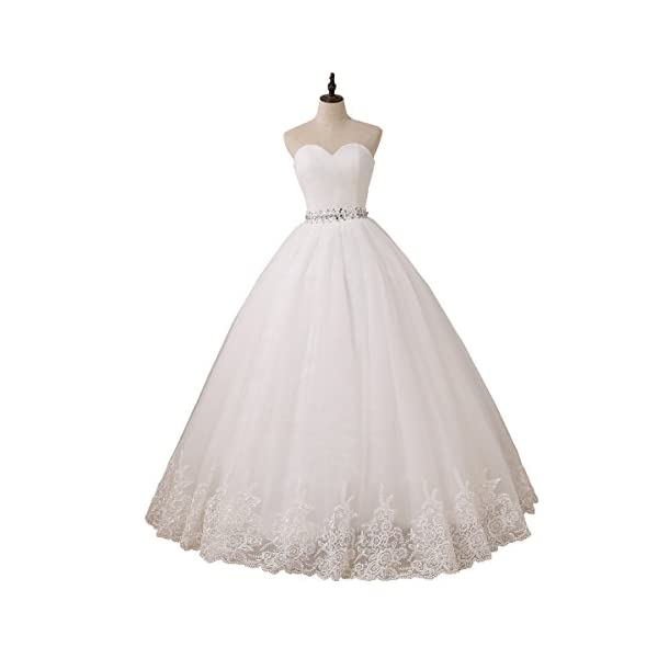 YIPEISHA Wedding Dress Sweetheart Tulle Wedding Dresses for Bridal Plus Size Ball Gowns