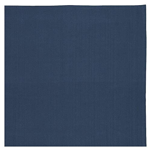 Linum Bianca Tischdecke Baumwolle Blau (Ink Blue) 100x100