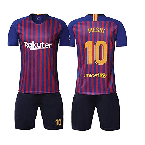 LIMQ Barcelona Jersey 18-19 Messi 10 Voetbal Pak Mannelijke Barcelona Team Uniform Training Pak Voetbal Uniform