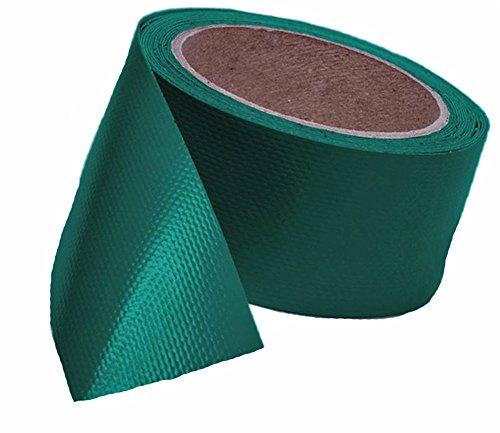 Witte plusguide 7€/m Trucker-Tape, Planen-Reparatur-Band in grün auch p.f. Markise, Überdachung, Zelt