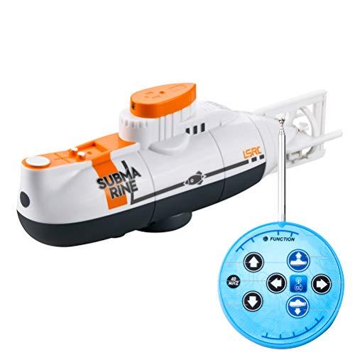 RC Mini Submarino 6 Canales de Control Remoto bajo el Agua del Barco RC Modelo Submarino niños Educativo del Regalo Juguete para los niños Barco de Control Remoto