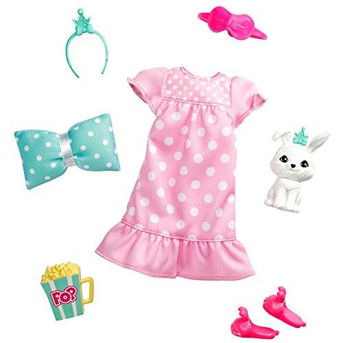 Barbie Mascotas y Princesa con Conejito Pack de Moda y Accesorios (Mattel GML66) , color/modelo surtido