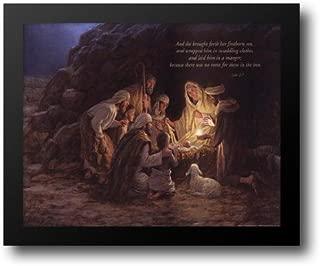 Nativity 14x12 Framed Art Print by McNaughton, Jon