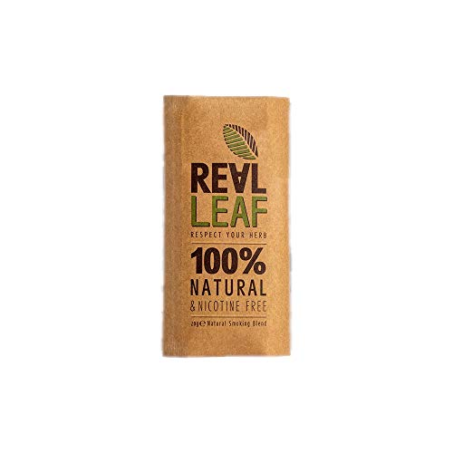 Real Leaf Organic Herbal Smoking Blend