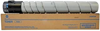 A33K030 TN322 Genuine Konica Minolta Toner Cartridge, 24000 Page-Yield, Black