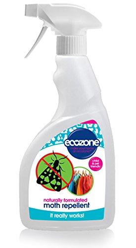 Ecozone antitarme, 500ml, formula naturale, lunga durata, adatto per tutti i tessuti
