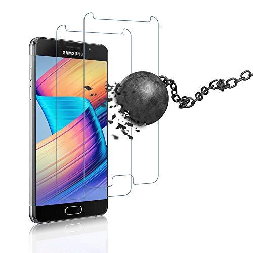 wsiiroon Panzerglas für Samsung Galaxy A5 2016, Einfach zu installierendes Schutzfolie, Beste Schutz, 9H Härte Samsung Galaxy A5 2016 Displayschutz [2 Stück]