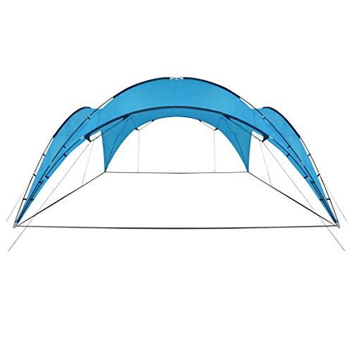 Sunlight - Carpa para fiestas, resistente al agua, para eventos, jardín, protección solar, 450 x 450 x 265 cm, color azul claro