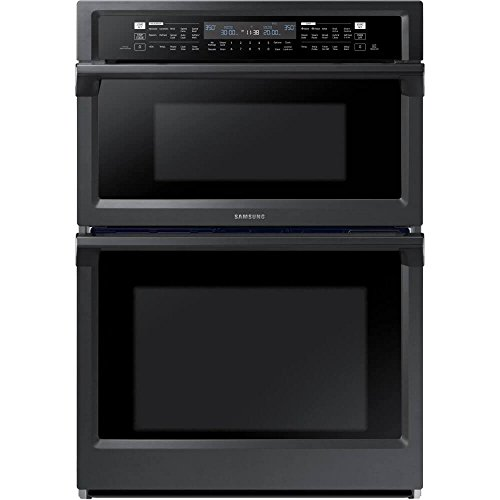 Samsung 30' Fingerprint Resistant Black Stainless Steel Built-In Combination Microwave Wall Oven