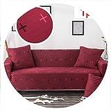 Universal Elastic Sofa Cover Tight wrap All Inclusive Slip Resistant Sofa Cover Elastic Sofa Towel Single/Two/Three/Four Seater,22,Two seat Sofa