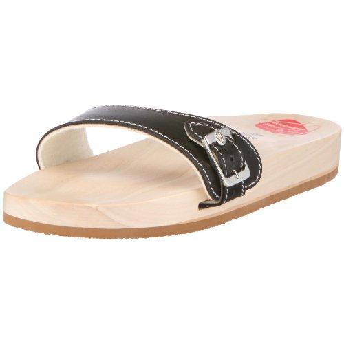 Berkemann Original Sandale, Unisex-Erwachsene Pantoletten, Schwarz (schwarz 900), 43 1/3 EU (9 UK)