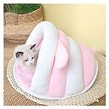 Momoko WJL 2021 Nuevo CAVO Caliente Cava Cava Cava Cama DE PETRÓNICA Lindo GATIDO COJUSTIÓN CUBIERTE PEQUEÑO Perro CESTAR Soft Puppy Mat Cats Suministros Casa for Gato Lili