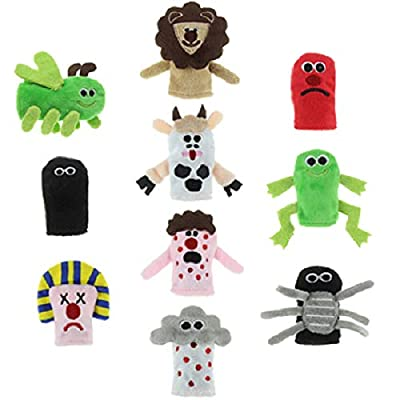 Passover 10 Plagues Finger Puppets for Seder by Cazenove
