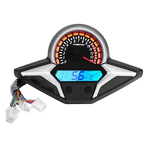 Odómetro Con Sensor De Velocidad, Velocímetro Con Sensor De Velocidad, Velocímetro Negro + Plástico Plateado Para Piezas De Automóvil Para CBR250R