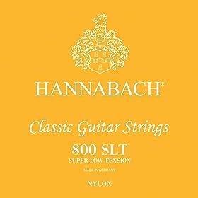 Juego 3 cuerdas bajo, D4/Re4+A5/La5+E6/Mi6 Cuerdas graves plateadas Cuerdas para guitarra clásica Serie 800 Super Lo Tensión, muy baja tensión Cuerdas de guitarra clásica para principiantes Hechas en Alemania