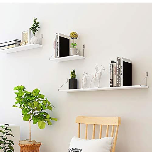 Schwimmendes Wandregal/schwimmendes Regal Wandregal/modernes Wandregal, platzsparend, geeignet für Wohnzimmer, Büro, Schlafzimmer, Bad, Küche usw. 3-teiliges Set