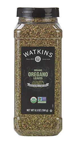 Watkins Gourmet Spice, Organic Oregano, 6.5 oz. Bottle, 1 Count (21811)