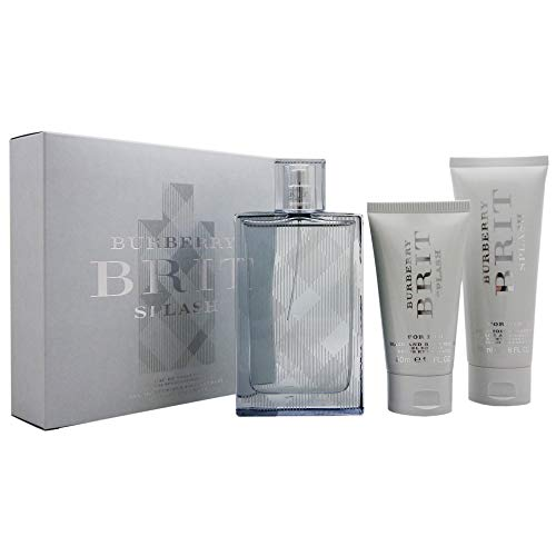Burberry Brit Splash EDT 100 ml + SG Für Körper und Haare 50 ml + Moisturiser 75 ml M