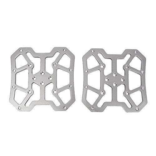 BGGPX 2pcs aleación de Aluminio de Bicicletas Automáticos Pedal Plataforma Adaptadores/Ajuste for...