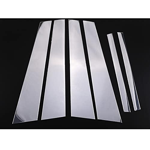 Hliybm para BMW 7 Series F01 F02 2008-2015, Accesorios Exteriores, Puerta de Coche, Ventana, Centro B, Pilar, embellecedor, Cubierta, Pegatina