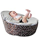 BayB Brand Bean Bag for Babies and Toddlers - Filled and Ready for Use (giraffe)