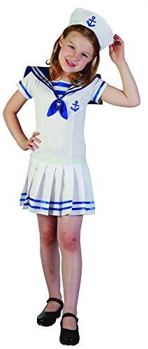 Costume da marinaretta per bambina 10/12 anni (140/152)