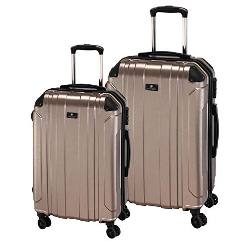 Check In Trolley-Set Bilbao, 2-TLG, Champagner, Farbe:Champagner
